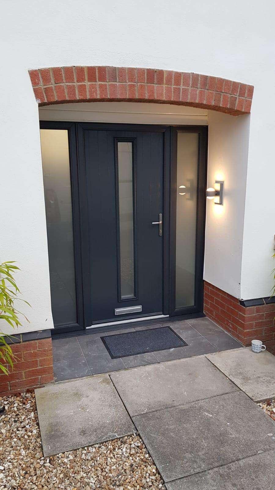 black composite door lincolnshire